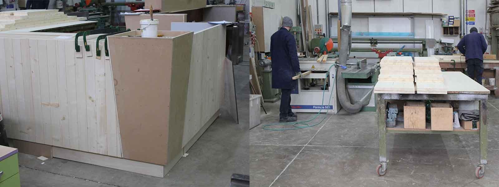 Falegnameria per la realizzazione di arredamento per locali commerciali a Grosseto