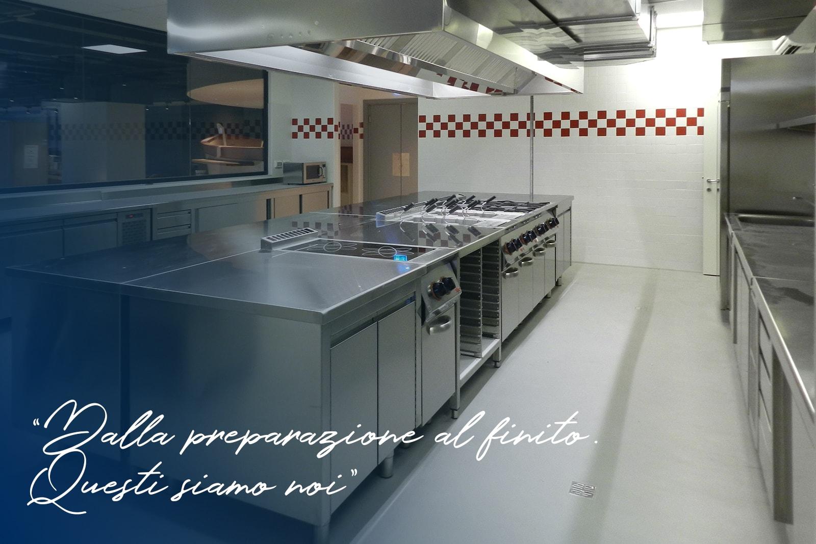 fornitura attrezzature cucine professionali a Grosseto