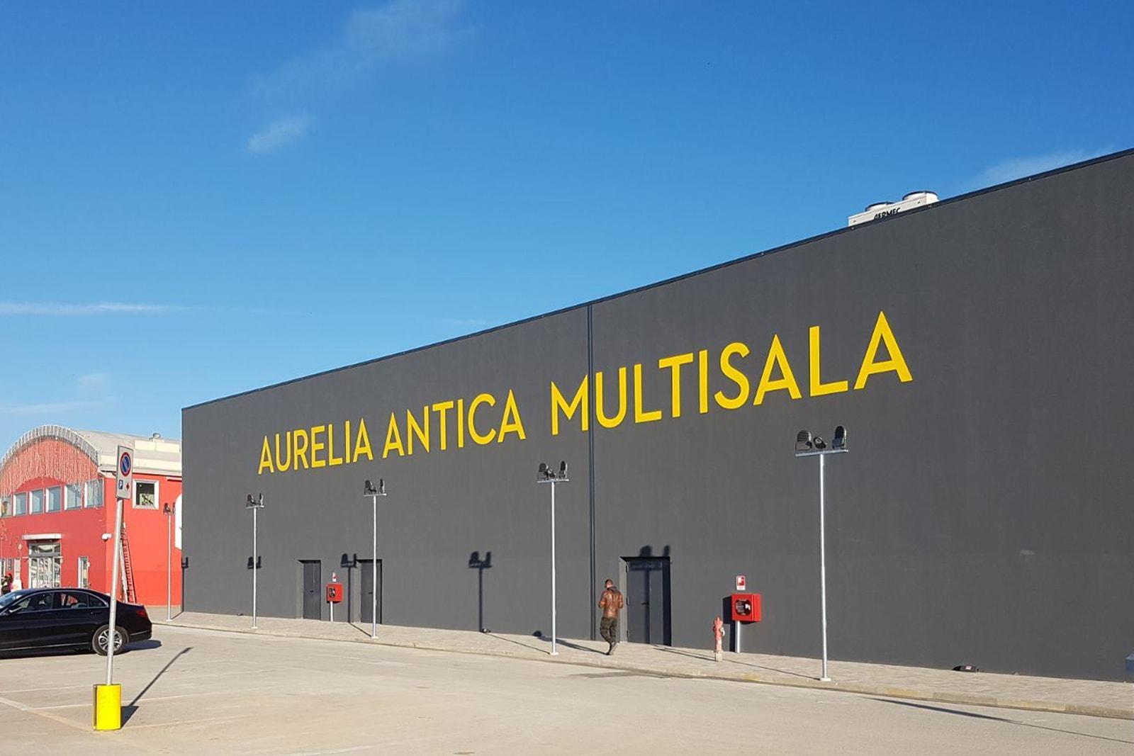 arredo grandi impianti a Grosseto - esterno cinema multisala