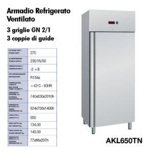 Fedeli Commerciale_armadio refrigerato ventilato