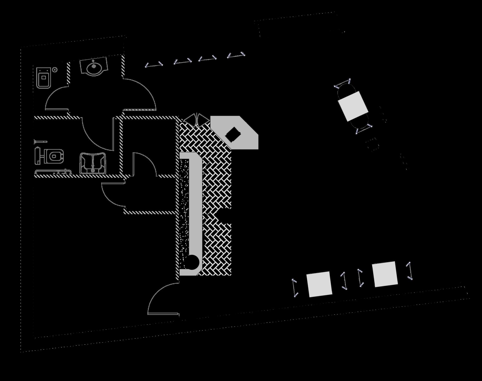 Fedeli Commerciale_planimetria per bar gelateria